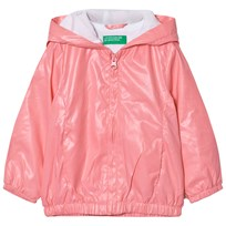 United Colors of Benetton Zip Hooded Jacka Candy Pink Candy Pink