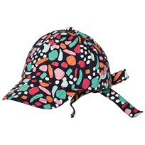 United Colors of Benetton Coloured Cap With Tie Back Multi