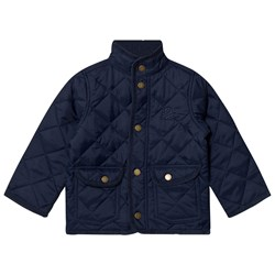 United Colors of Benetton Classic Quilted Barn Jacka Marinblå