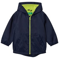 United Colors of Benetton Zip Hooded Jacka Marinblå Navy