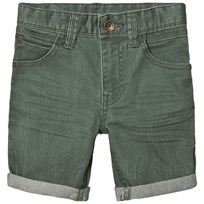 United Colors of Benetton Stretch Denim Shorts Khaki Khaki