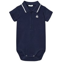 United Colors of Benetton Classic Logo Polo Baby Body Navy Navy