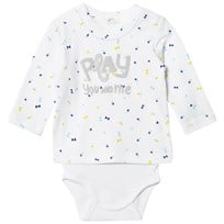 United Colors of Benetton Printed Sweater Baby Body White White