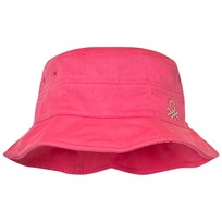 United Colors of Benetton Pink Cotton Sun Hat Pink