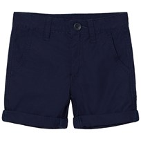 United Colors of Benetton Navy Cotton Chino Shorts Marinblå