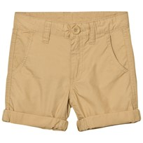 United Colors of Benetton Beige Cotton Chino Shorts Beige