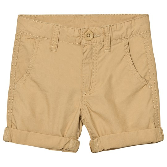 United Colors of Benetton Cotton Chino Shorts Beige Beige