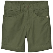 United Colors of Benetton Cotton Shorts Khaki Khaki