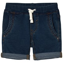United Colors of Benetton Soft Denim Chino Shorts Blue Blue