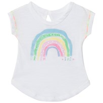 United Colors of Benetton Rainbow Print T-shirt Vit White