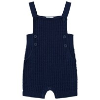 United Colors of Benetton Knit Dungaree Navy Navy