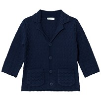 United Colors of Benetton Knit Jacket Navy Navy
