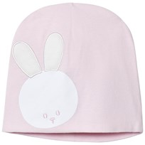United Colors of Benetton Jersey Beanie With Bunny Detail Pink Pink