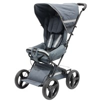 carena Möja Travel Stroller 2017 Grey Black