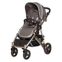 carena Lysekil Stroller Grey Black