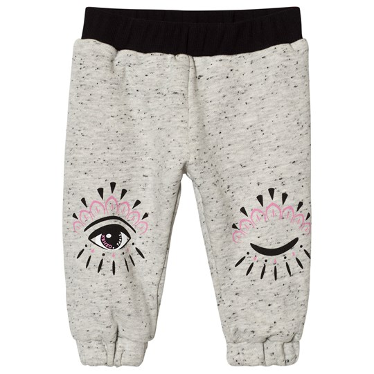 Kenzo Reversible Eye Print Track Pants Grey/Pink 23
