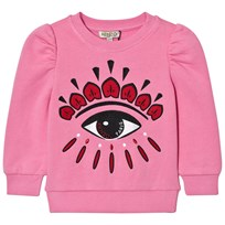 Kenzo Eye Back and Front Print Tröja Rosa 320