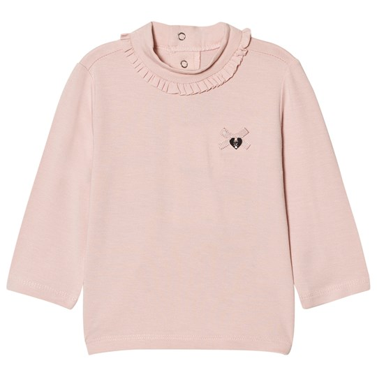 Mayoral Pale Pink Frill Polo Neck 45