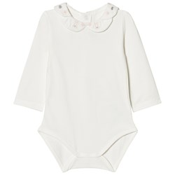 Mayoral Off White Baby Body with Scallop Embroidered Collar