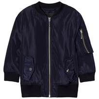 Little Remix Liana Lace-Up Bomber Navy Navy