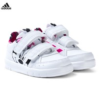 adidas Disney Minnie Mouse AltaSport Infants Velcro Trainers FTWR WHITE/SHOCK PINK S16/CORE BLACK