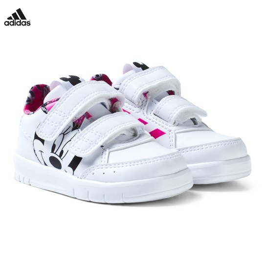 7f73f09060ff adidas Performance Disney Minnie Mouse AltaSport Infants Velcro Trainers  FTWR WHITE SHOCK PINK S16