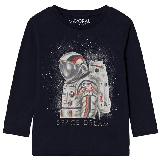 Mayoral Navy Space Dream Long Sleeve Tee 43