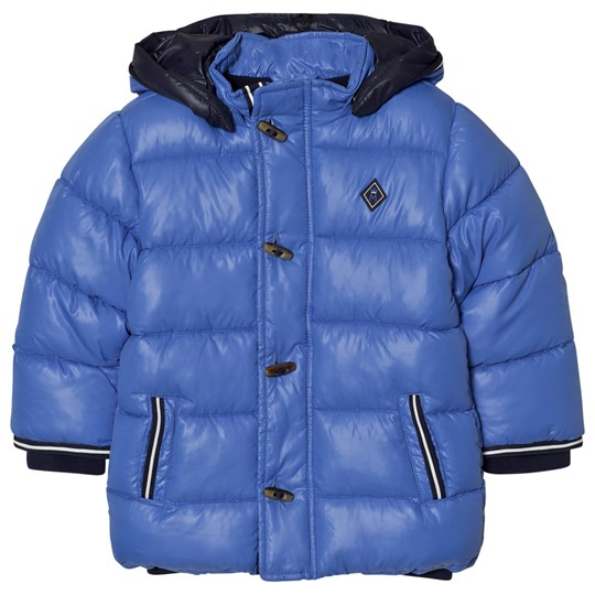 Mayoral Blue Hooded Puffer Coat 57