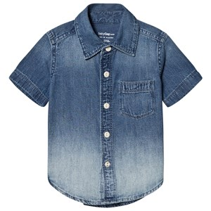 Image of GAP Dip-Dye Denim Shirt 12-18 mdr (2743712713)