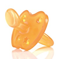 Hevea Hevea Pacifier Star & Moon 3-36 Months Natural Rubber