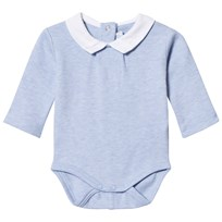Mayoral Collared Baby Body Blue Marl 57