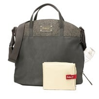 Babymel Grace Changing Bag Grey Musta