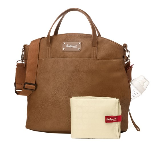 Babymel Grace Changing Bag Tan Tan