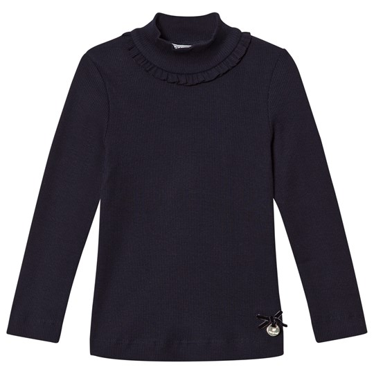 Mayoral Eclipse Ribbed Long Sleeve Tee with Mock Turtleneck 52