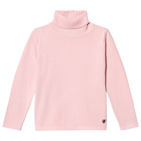 Mayoral Pink Knit Turtleneck Top 10