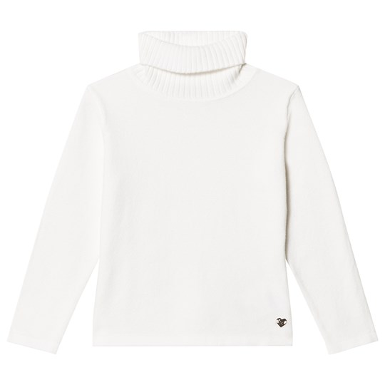 Mayoral Off-White Knit Turtleneck Top 12