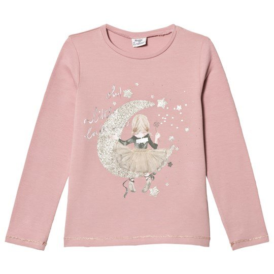 Mayoral Girl and Moon Print Tröja Light Rose 90