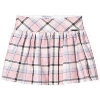 Mayoral Bubblegum Checkered Skirt 84