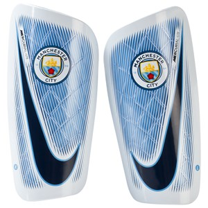 Image of Manchester City FC Manchester City Lite Shin Guards M (10-12 years) (2743766429)