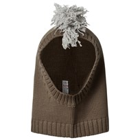 Stella McCartney Kids Mohican Snapper Balaklava Olive 2471