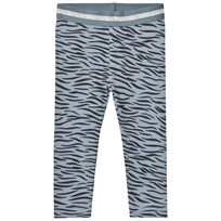 Stella McCartney Kids Tiger Print Tula Leggings Blå 4262