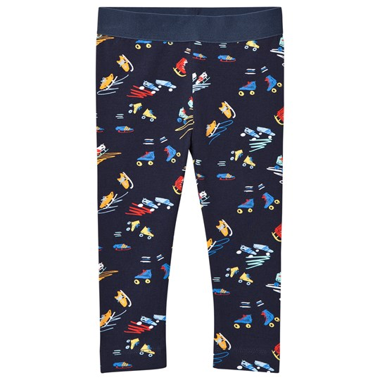 Stella McCartney Kids Scribble and Skate Print Tula Leggings 4098