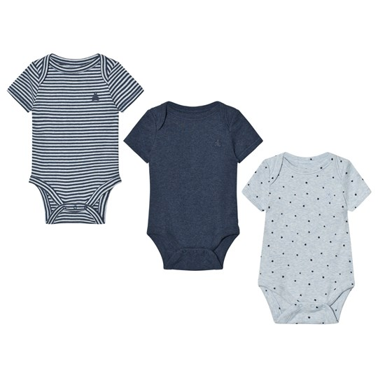 GAP Favorite Starry Baby Body (3 Pack) Navy Heather