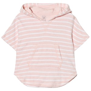 Image of GAP Bear Hoodie Coverup in Pink Cameo 0-3 mdr (2839670821)