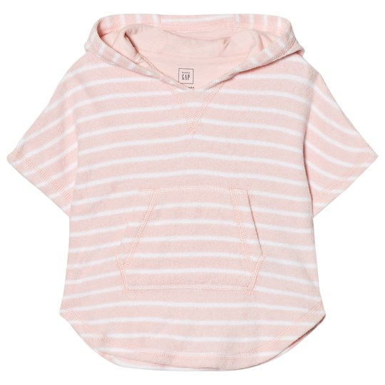 GAP Bear Hoodie Coverup in Pink Cameo Pink Cameo
