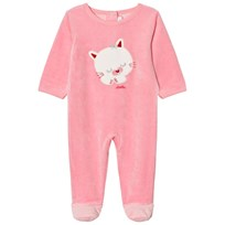 Absorba Bright Pink Cat Footed Baby Body 31