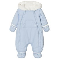 Absorba Pale Blue Fleece Lined coverall 41