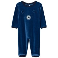 Absorba Blue Bear Footed Baby Body 42