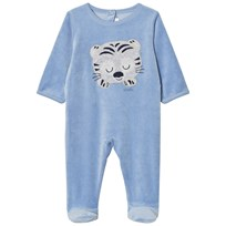 Absorba Blue Tiger Footed Baby Body 44