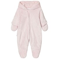 Absorba Pale Pink Teddy Fleece Coverall 30